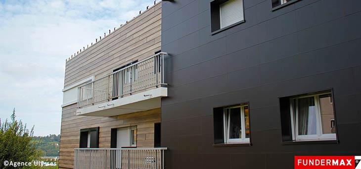 Fassadenplatten Holz fundermax exterior fassaden hpl platten holzhandel im netz
